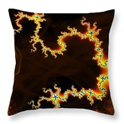Dark World Throw Pillow