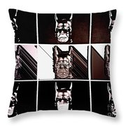 Darkbat Throw Pillow