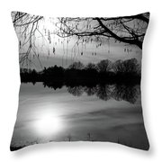 Darken Throw Pillow