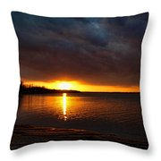Darkness And Light Throw Pillow