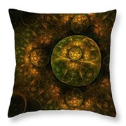 Darkness Looms Throw Pillow