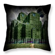 Darkside Of The City Throw Pillow