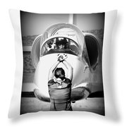 Darkstar II Taxis In Throw Pillow