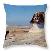 Darth Sphinx 2 Throw Pillow