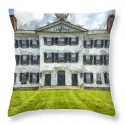 Dartmouth College Hanover New Hampshire Pencil Throw Pillow
