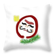 Daruma Throw Pillow