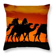 Darwin 3 Throw Pillow