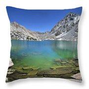 Darwin Canyon Lower Lake - Sierra Throw Pillow