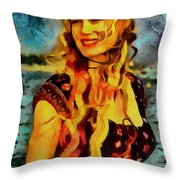 Daryl Hannah Collection - 1 Throw Pillow