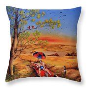 Das Gluck Throw Pillow