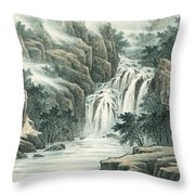 Dashan Waterfall Throw Pillow