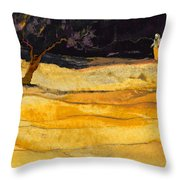 Date In The Night Throw Pillow