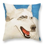 Date With Paint Feb 19 Layla Throw Pillow