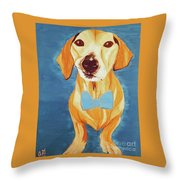 Date With Paint Feb 19 Rafee Throw Pillow