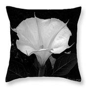 Datura-2 Throw Pillow