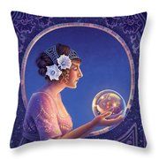 Datura - True Motives Throw Pillow