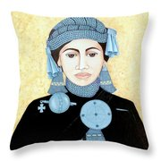 Daughter Of The Sun Throw Pillow