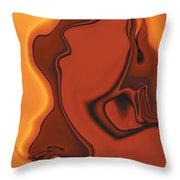 Daughter Of Venus Throw Pillow