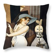 Daum Marries Her Pedantic Automaton George Throw Pillow