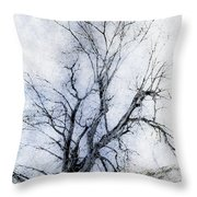 Daunting Throw Pillow