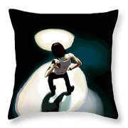 Dave Gahan From Condemnation Live Throw Pillow