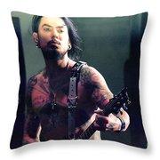 Dave Navarro  Throw Pillow