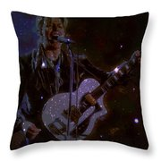 David Bowie Space Oddity  Throw Pillow