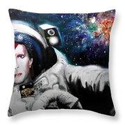 David Bowie, Star Man Throw Pillow