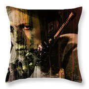 David Bowie / The Man Who Fell To Earth  Throw Pillow
