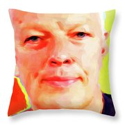 David Gilmour # 001 Nixo Throw Pillow