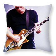 David Gilmour By Nixo Throw Pillow