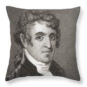 David Humphreys,1752 To 1818 Throw Pillow
