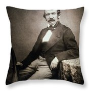 David Livingstone (1813-1873) Throw Pillow