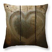 David Loves Laura Throw Pillow