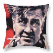 David Lynch Throw Pillow