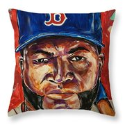 David Ortiz Throw Pillow