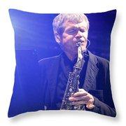 David Sanborn Throw Pillow