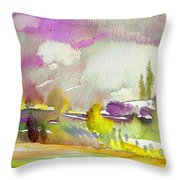Dawn 03 Throw Pillow