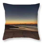 Dawn And The Sea Throw Pillow