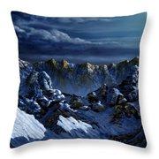 Dawn At Eagle's Peak Throw Pillow