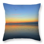 Dawn At Kempenfelt Bay Five  Throw Pillow