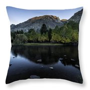 Dawn At Rush Creek 2 Throw Pillow