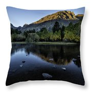 Dawn At Rush Creek 3 Throw Pillow