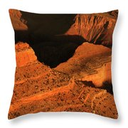 Dawn At The Grand Canyon Throw Pillow