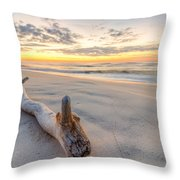 Dawn At The Key Throw Pillow