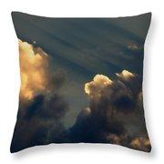 Dawn Bursting In Air Throw Pillow