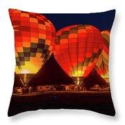 Dawn Color Throw Pillow