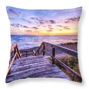 Dawn Colors Throw Pillow