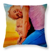 Dawn Could Not Be More Beautiful  Throw Pillow