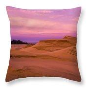Dawn Dunes Throw Pillow